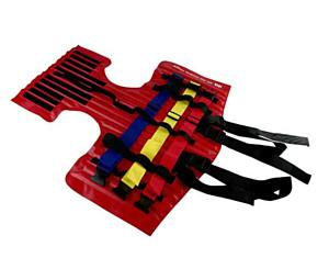 I.D.E.A. Velcro Head Restraint, UP, Red