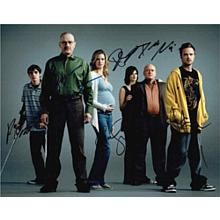 Breaking Bad Cast Signed 11x14 Photo Certified Authentic PSA/DNA COA