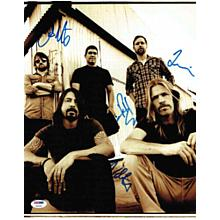 Foo Fighters Signed 11x14 Photo Certified Authentic PSA/DNA COA