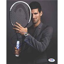 Novak Djokovic Signed 8x10 Photo Certified Authentic PSA/DNA COA
