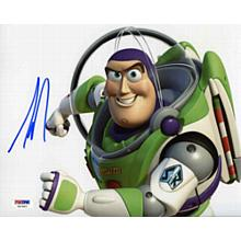 Tim Allen Toy Story Buzz Lightyear Signed 8x10 Photo Certified Authentic PSA/DNA COA