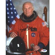 John Glenn NASA Astronaut Signed 8x10 Photo Certified Authentic PSA/DNA COA