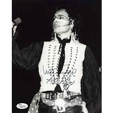 Adam Ant Live Signed 8x10 Photo Certified Authentic JSA COA