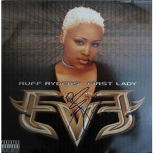 Eve 'Ruff Ryders' First Lady' Signed Record Album LP Certified Authentic PSA/DNA COA