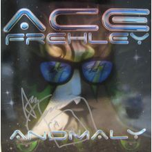 Ace Frehley Anomaly Solo Signed Record Album LP Certified Authentic JSA COA