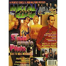 "Scott Weiland ""Stone Temple Pilots"" Signed  Metal Edge Magazine Authentic"