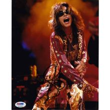 Steven Tyler Aerosmith Signed 8x10 Photo Certified Authentic PSA/DNA COA