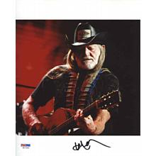 Willie Nelson 'Live' Signed 8x10 Photo Certified Authentic PSA/DNA COA