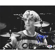 Stewart Copeland The Police Signed 8x10 Photo Certified Authentic PSA/DNA COA