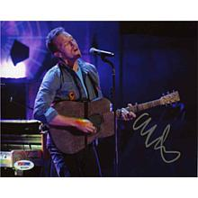Chris Martin Coldplay Signed 8x10 Photo Certified Authentic PSA/DNA COA