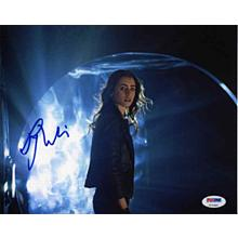 Lily Collins Mortal Instruments Signed 8x10 Photo Certified Authentic PSA/DNA COA