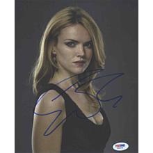 Erin Richards Gotham Batgirl Signed 8x10 Photo Certified Authentic PSA/DNA COA