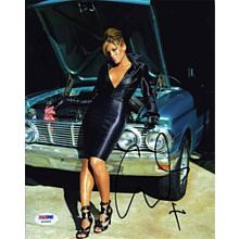 Eva Mendes Sexy Signed 8x10 Photo certified Authentic PSA/DNA COA