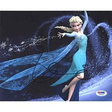 "Idina Menzel 'Frozen"" Signed 8x10 Photo Certified Authentic PSA/DNA COA"