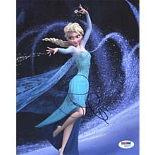 "Idina Menzel ""Frozen"" Signed 8x10 Photo Certified Authentic PSA/DNA COA"