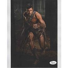 Manu Bennett 'Spartacus' Signed 8x10 Photo Certified Authentic JSA COA