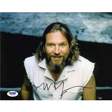 Jeff Bridges 'The Big Lebowski' Signed 8x10 Photo Certified Authentic PSA/DNA COA