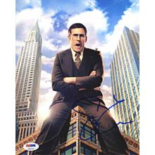 Steve Carell Anchorman 2 Signed 8x10 Photo Certified Authentic PSA/DNA COA