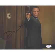 Daniel Craig James Bond 007 Signed 8x10 Photo Certified Authentic PSA/DNA COA