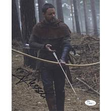 Russell Crowe 'Robin Hood' Signed 8x10 Photo Certified Authentic JSA COA & GA