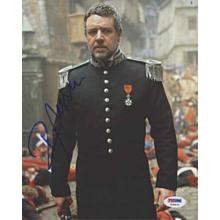 Russell Crowe 'Les Miserables' Signed 8x10 Photo Certified Authentic PSA/DNA COA