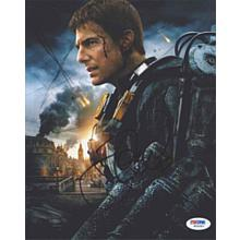 Tom Cruise 'Edge of Tomorrow' Signed 8x10 Photo Certified Authentic PSA/DNA COA