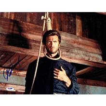 Clint Eastwood 'The Good, the Bad and the Ugly' Signed 11x14 Photo Certified Authentic PSA/DNA COA