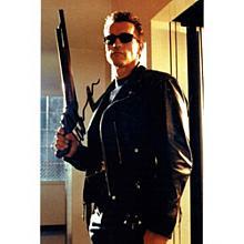 Arnold Schwarzenegger 'Terminator' Signed 11x14 Photo Certified Authentic PSA/DNA COA