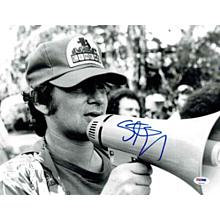Steven Spielberg 'Directing' Signed 11x14 Photo Certified Authentic PSA/DNA COA