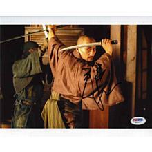 Ken Watanabe Last Samurai Signed 8x10 Photo Certified Authentic PSA/DNA COA
