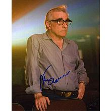 Martin Scorsese Great Signed 8x10 Photo Certified Authentic PSA/DNA COA