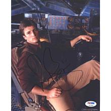 Nathan Fillion 'Serenity' Signed 8x10 Photo Certified Authentic PSA/DNA COA