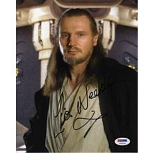 Liam Neeson Star Wars Signed 8x10 Photo Certified Authentic PSA/DNA COA