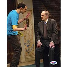 Bob Newhart 'Big Bang Theory' Signed 8x10 Photo Certified Authentic PSA/DNA COA