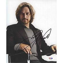 James McAvoy X-Men Days of Future Past Signed 8x10 Photo Certified Authentic PSA/DNA COA