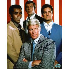 Peter Graves Mission Impossible Signed 8x10 Photo Authentic COA
