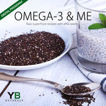 Omega-3 & Me: Raw Superfood Recipes w/Chia Seeds