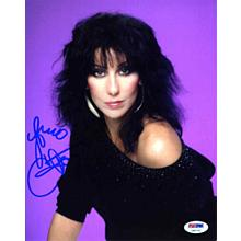 Cher Signed Nice 8x10 Photo Certified Authentic PSA/DNA COA