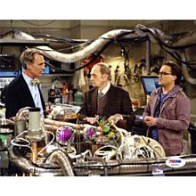 Bob Newhart The Big Bang Theory Signed 8x10 Photo Certified Authentic PSA/DNA COA