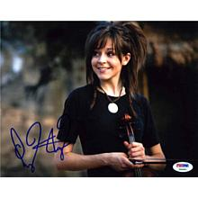 Lindsey Stirling Signed 8x10 Photo Certified Authentic PSA/DNA COA AFTAL