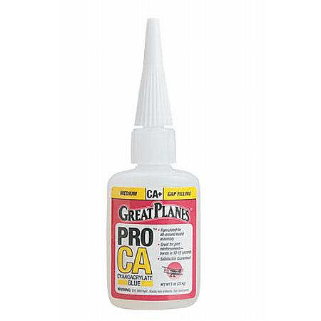 Pro CA+ Glue 1 oz Medium