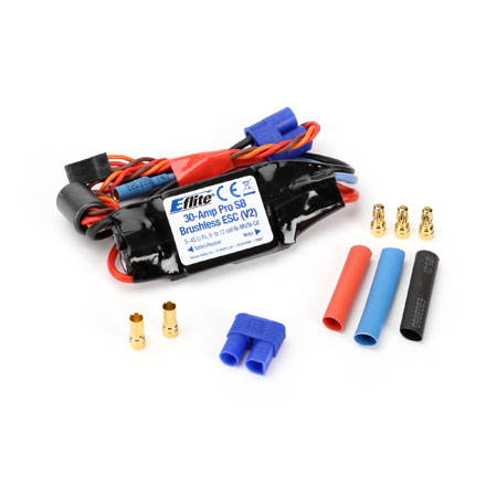 30-Amp Pro Switch-Mode BEC Brushless ESC (V2)