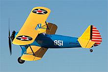 UMX Stearman PT-17 with AS3X BNF