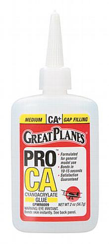 Pro CA+ Glue 2 oz Medium