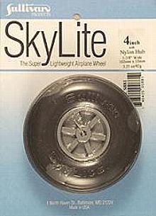 """Skylite Wheel w/Tread 4"""""""