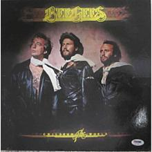 Barry Gibb Bee Gees Signed Record Album LP Certified Authentic PSA/DNA COA