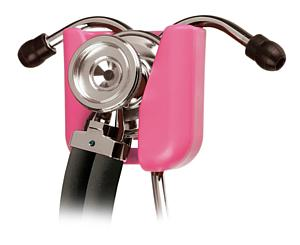 Hip Clip Stethoscope Holder, Pink