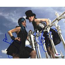 The Veronicas Cool Signed 8x10 Photo Certified Authentic PSA/DNA COA