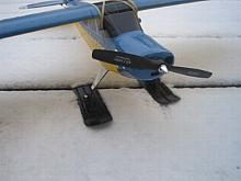 SnowZone Deluxe Parkflyer Skis