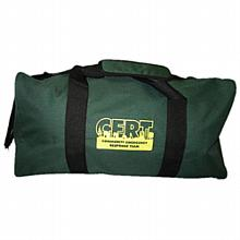 Green Duffel Bag with C.E.R.T. Logo